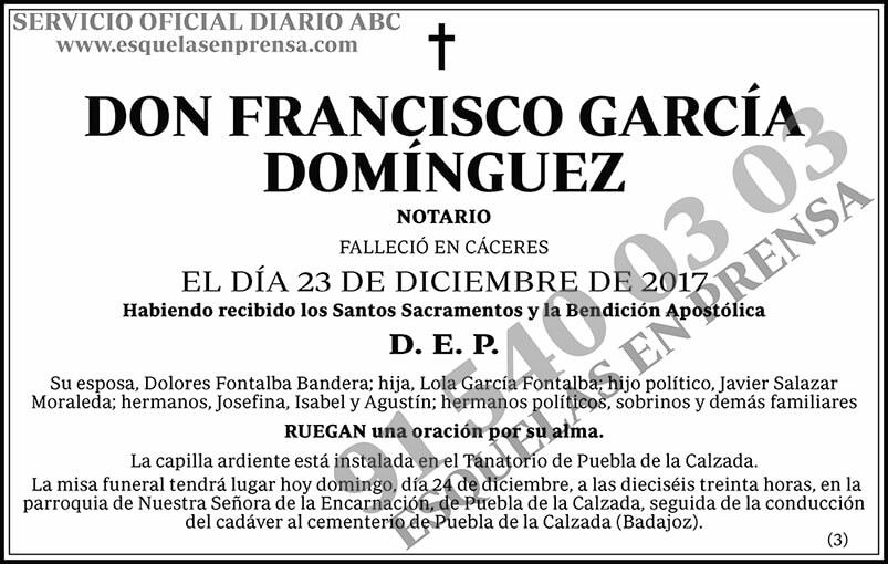 Francisco García Domínguez